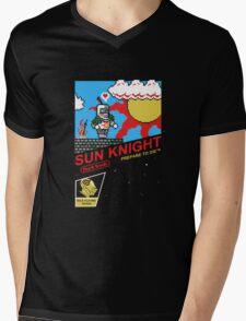 8 Bit Sun Knight Mens V-Neck T-Shirt