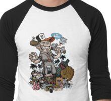 Go SF Men's Baseball ¾ T-Shirt