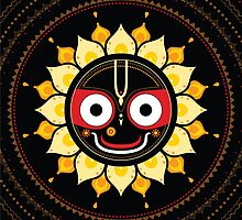 Lord Jagannatha. by Katyau