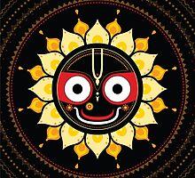 Lord Jagannatha. by Katyau