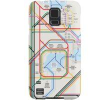 Walt Disney World Transportation as a Subway Map Samsung Galaxy Case/Skin
