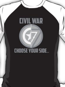 Marvel Civil War - Choose Your Side V.01 T-Shirt