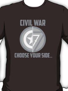 Marvel Civil War - Choose Your Side V.01 T-Shirt