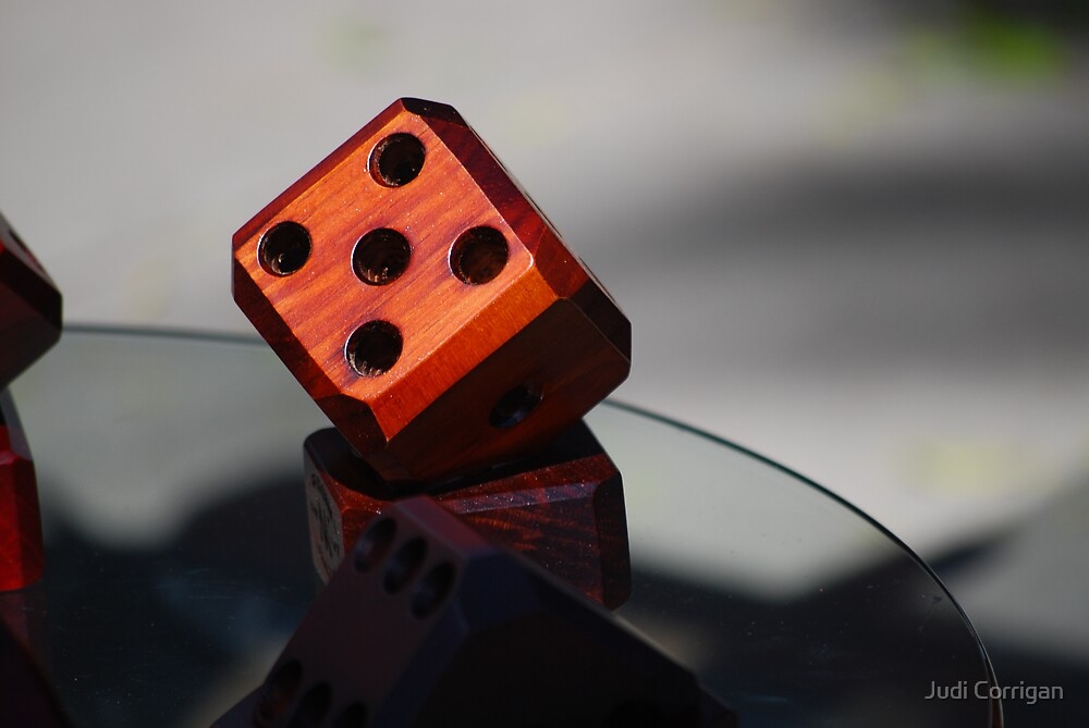 Roll of the dice by Judi Corrigan