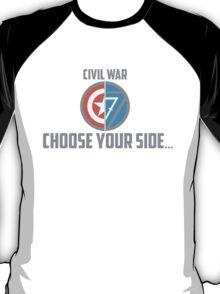 Marvel Civil War - Choose Your Side V.02 T-Shirt