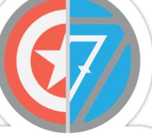 Marvel Civil War - Choose Your Side V.02 Sticker