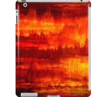 Original Abstract Modern Art Titled: Time Marching  iPad Case/Skin