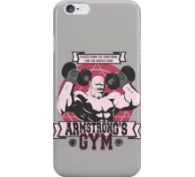 Strong Arm Gym iPhone Case/Skin
