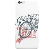 Quote - I Love to Ride my Bike iPhone Case/Skin