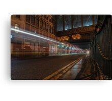 Central Station Lights Canvas Print