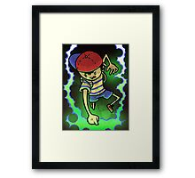 Earthbound Hero Framed Print