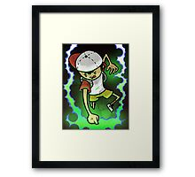 Earthbound Hero (alt color) Framed Print