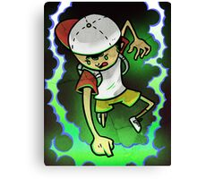 Earthbound Hero (alt color) Canvas Print