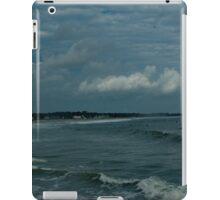 Narragansett Beach after the Storm iPad Case/Skin