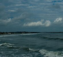 Narragansett Beach after the Storm by Barry Doherty