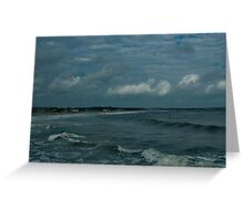 Narragansett Beach after the Storm Greeting Card