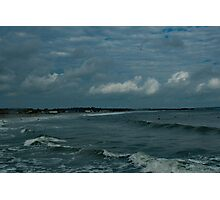 Narragansett Beach after the Storm Photographic Print