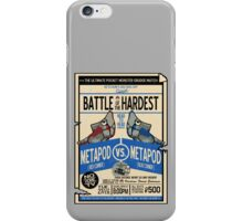 Battle of the Century iPhone Case/Skin