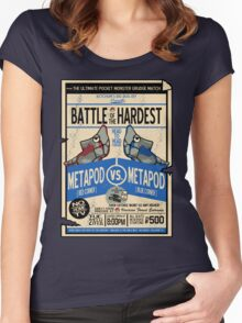 Battle of the Century Women's Fitted Scoop T-Shirt