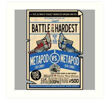 Battle of the Century Art Print