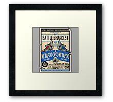 Battle of the Century Framed Print
