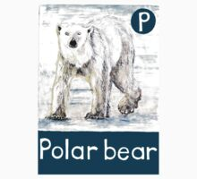 P is for Polar bear Kids Clothes