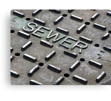 Sewer Canvas Print