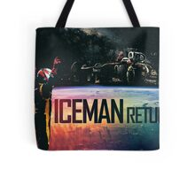 The Iceman Returns Poster Tote Bag