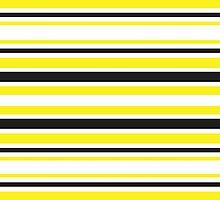 Bumble Bee Stripes by katmun