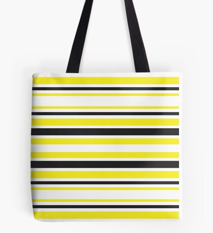 Bumble Bee Stripes Tote Bag