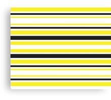 Bumble Bee Stripes Canvas Print