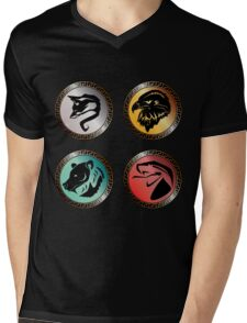 The Champions of Elan Mens V-Neck T-Shirt