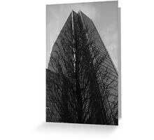 Canary Wharf Office Building Greeting Card