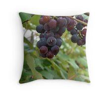 Concord Grapes Throw Pillow