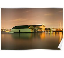 Peppermint Grove Boatsheds Poster