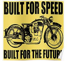MOTORCYCLE-1920'S Poster