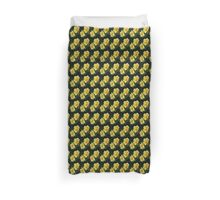 Double Daffodils Duvet Cover