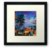 By the Canyon Framed Print