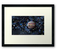 The Asteroid Belt Framed Print