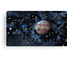 The Asteroid Belt Canvas Print