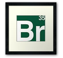 Br 35 -Breaking Bad Periodic Framed Print