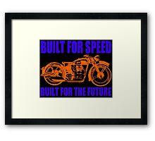 MOTORCYCLE-(1920'S) 2 Framed Print