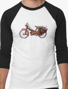 Vintage French Motobecane Moped Men's Baseball ¾ T-Shirt
