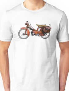 Vintage French Motobecane Moped Unisex T-Shirt
