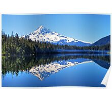 A Mount Hood Reflection Poster