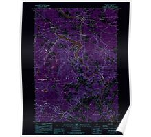 Maine USGS Historical Map Bar Mills 104892 1983 24000 Inversion Poster