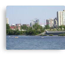 Cityscape(Calgary,Alberta) Canada Canvas Print