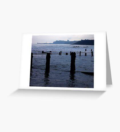 Evening Tide - Sandsend Greeting Card