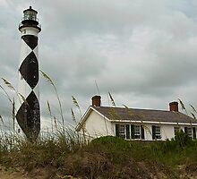 Cape Lookout Lighthouse by Dennis Jones - CameraView