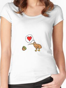 Kiwi? Women's Fitted Scoop T-Shirt